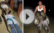 Biggest Burmese Python Ever Caught In Florida