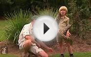 Bindi & Robert Irwin feature - Burmese Python (Jonah