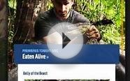 Here Is What A Man Getting Eaten Alive By A Snake Looks