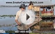 Snake Catcher Sticks, Tongs and Hooks Information.